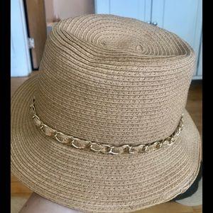 Accessories - Fedora, tan/beige color. Never worn.